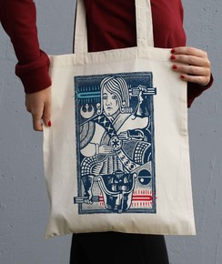 Tote Bag King Of Darkside par Neon Mystic