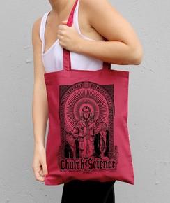 Tote Bag Church Of Science par Neon Mystic