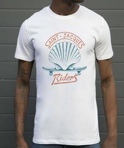 T-shirt à col rond Saint Jacques Riders par Flowhynot