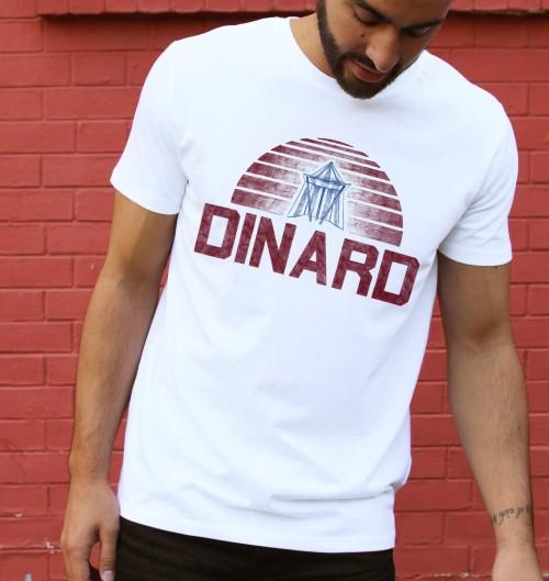 T-shirt pour Homme Dinard de couleur Blanc