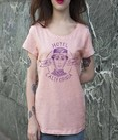 T-shirt 100% coton bio Femme Hotel California