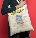 Tote Bag Leggo Higher par Smiling Paris