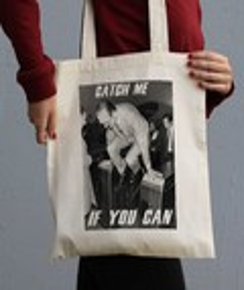 Tote Bag Chirac Catch Me par Hexagone