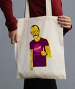 Tote Bag Terry Richardson par Prand