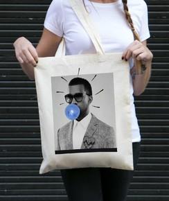 Tote Bag Kanye West par Prand