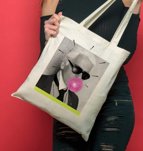 Tote Bag pour Femme Karl Lagerfeld de couleur Crème