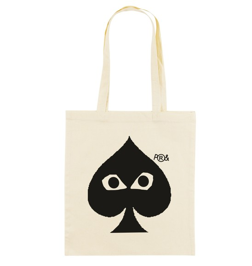 Tote Bag pour Femme As de Pic de couleur Crème