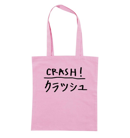 Tote Bag pour Femme Crash de couleur Rose