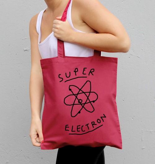 Tote Bag pour Femme Super Electron de couleur Cranberry