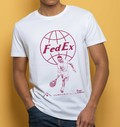 T-shirt à col rond Roger Federer par Love Means Nothing