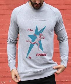 Sweatshirt à col rond Jimmy Connors par Love Means Nothing