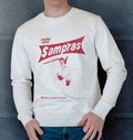 Sweat 85% coton bio / 15% polyester Pete Sampras