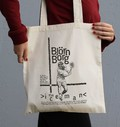 Tote Bag Björn Borg de la marque Love Means Nothing