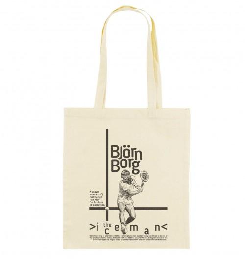 Tote Bag pour Femme Björn Borg de couleur Crème
