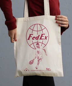 Tote Bag Roger Federer de la marque Love Means Nothing