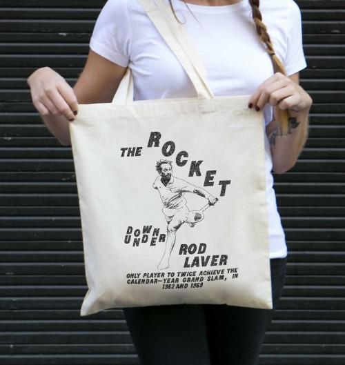 Tote Bag pour Femme Rod Laver de couleur Crème