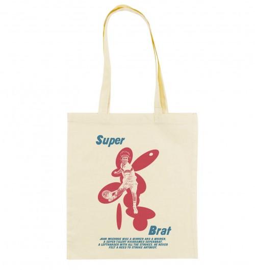 Tote Bag pour Femme John McEnroe de couleur Crème
