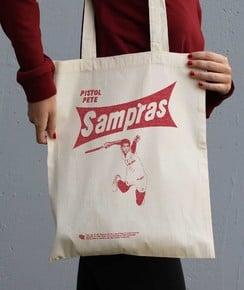 Tote Bag Pete Sampras par Love Means Nothing