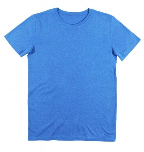 2a6c4bcd299 T-shirt pour Homme Homme Bleu Chiné de couleur Bleu chiné