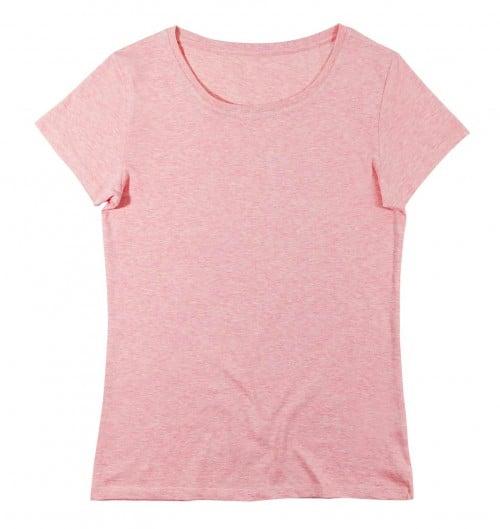 t-shirt femme rose