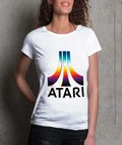 T-shirt à col rond Femme Atari Couleur