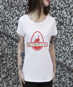T-shirt à col rond Femme Dinoco Toy Story