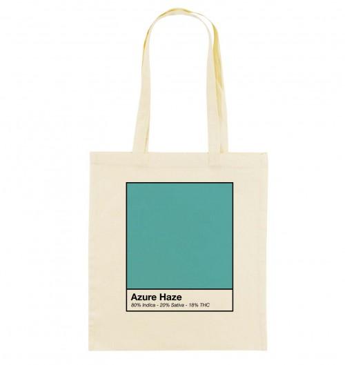 Tote Bag pour Femme Azure Haze de couleur Beige chiné