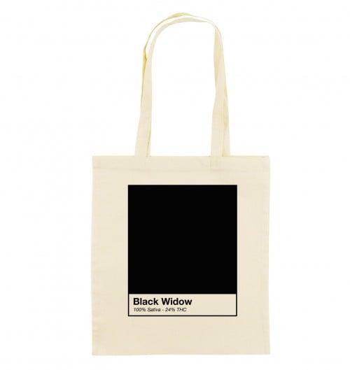 Tote Bag pour Femme Black Widow de couleur Beige chiné