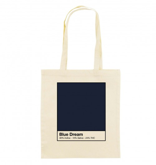 Tote-Bag pour Femme Blue Dream de couleur Beige chiné