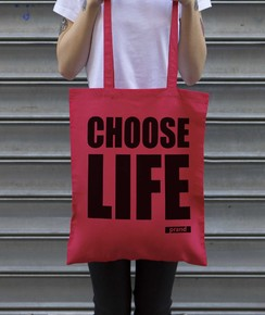 Tote Bag Choose Life par Prand