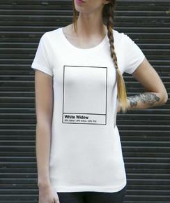 T-shirt à col rond Femme White Widow