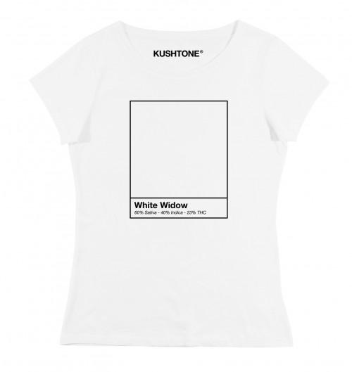 T-shirt pour Femme Femme White Widow de couleur Blanc