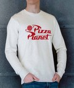Sweat à col rond Pizza Planet