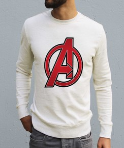 Sweat à col rond Logo The Avengers