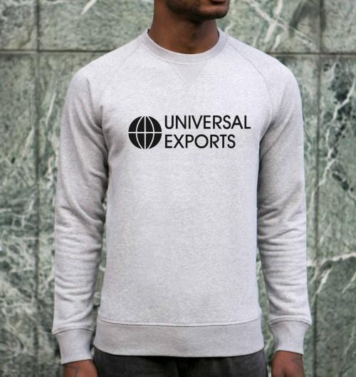 Sweat pour Homme Universal Exports de couleur Gris chiné