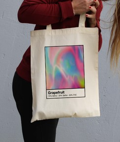 Tote Bag Grape Fruit