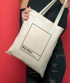 Tote Bag 100% coton White Widow