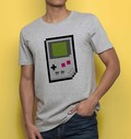 T-shirt à col rond Pixel Game Boy