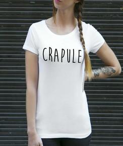 T-shirt 100% coton bio Femme Crapule