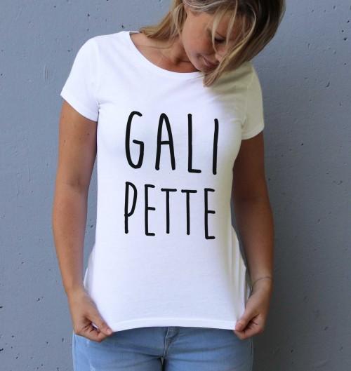 T-shirt pour Femme Femme Galipette de couleur Blanc