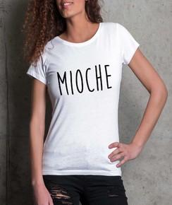 T-shirt à col rond Femme Mioche