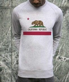 Détail Sweat California Republic Numérique