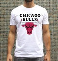 T-shirt à col rond Chicago Bulls