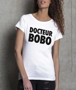 T-shirt à col rond Femme Docteur Bobo