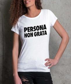 T-shirt 100% coton bio Femme Persona Non Grata