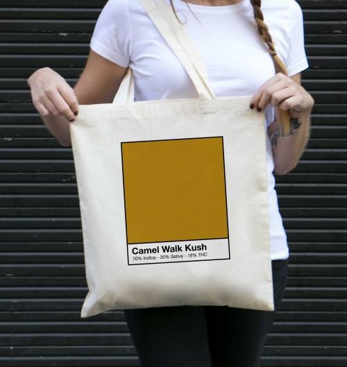 Tote Bag Camel Walk Kush de couleur Crème
