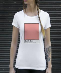 T-shirt 100% coton bio Femme Bubble Gum