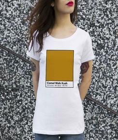T-shirt à col rond Femme Camel Walk Kush