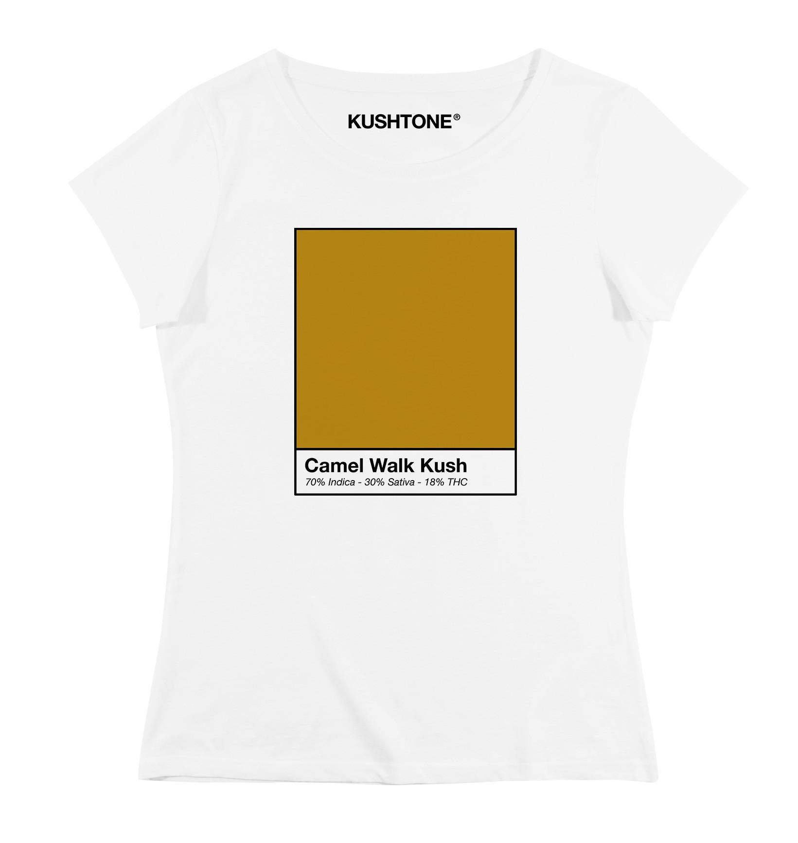 Camel Shirt T Walk Femme Kush CxBeroQdW