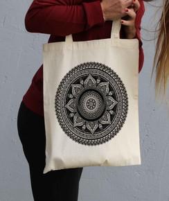 Tote Bag Mandala par Neon Mystic